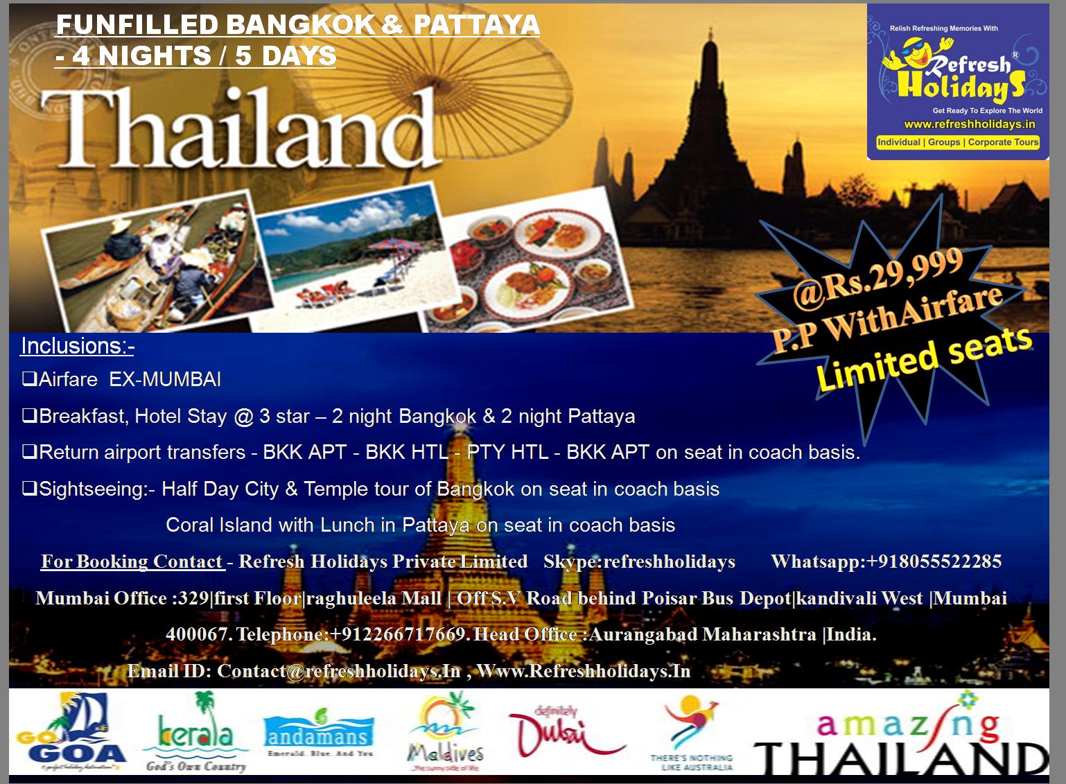 Amazing Thailand 7 Nights 8 Days